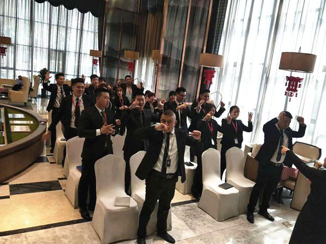 中房商学院为甘肃地产集团实施《豪宅消费心理把握》内训
