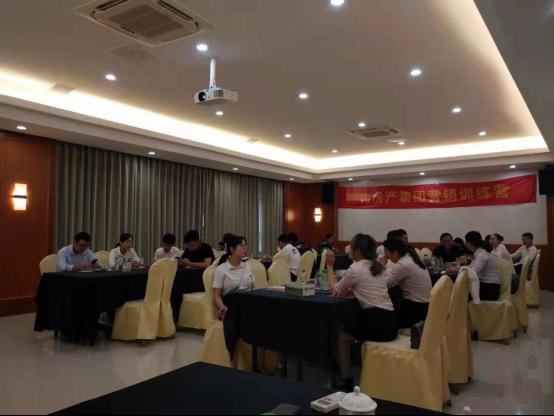 中房商学院为浙江某地产集团成功实施《营销特训营》内训