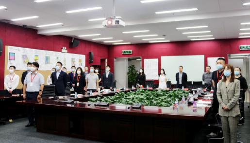 中房商学院为北京某地产公司实施《领袖魅力商业演讲》内训